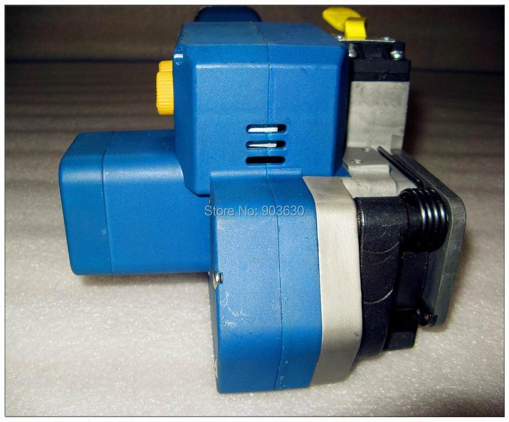 Z323 su baterijomis maitinamas PET / plastikinis suvirinimo surišimo - Įrankių komplektai - Nuotrauka 3