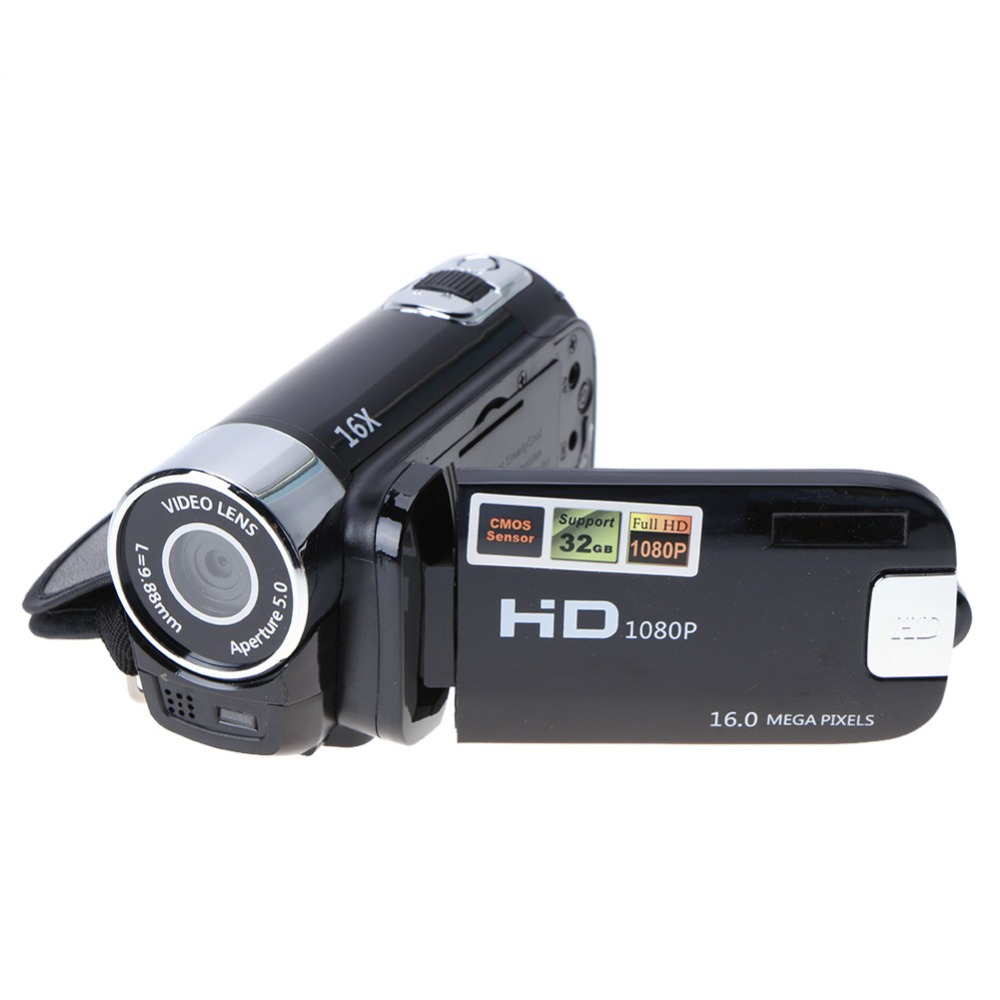 Travel Home Use Digital Video Camera HD 1080P 32GB 16x Zoom Mini Camcorder DV Camera Support AVI 1080P 720P VGA for SD/HCSD 32G hot sale easy use hd 720p 12m 8x digital zoom video camcorder camera gift for family happy recording 1pc