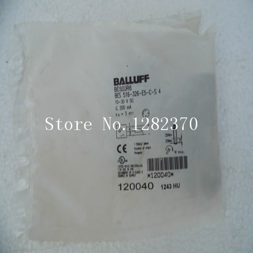[SA] New original authentic special sales BALLUFF sensor BES 516-326-E5-C-S4 spot --2PCS/LOT [sa] new original authentic special sales rexroth r412010305 buffer stock 2pcs lot