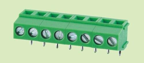 7,5 мм PCB винтовой клеммный блок 128-7.5R-2P, прямоугольный 90d, 2P 300 V/10A высокое качество, Rohs, винтовой клеммный блок
