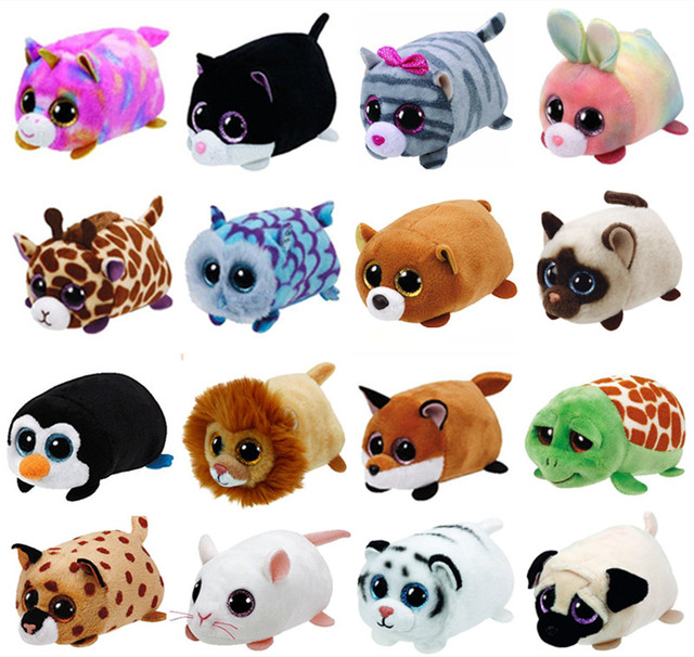 f0f8ba129d4 Ty Beanie Boos Teeny Tys Unicorn Owl Penguin Dog Siamese Cat Mouse Lion  Rabbit Turtle Stuffed Animal Stackable Screen Cleaner