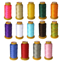 Hot Sales 15 colors 210M DIY Making Cord Accessories Pearl Thread Bead Nylon Silk Cord Thread Line 0.8mm Fit Necklace Jewelry