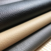 54 x 144 Black Grey Beige Car Heavy Duty Use Faux Leather Vinyl Fabric Upholstery Waterproof UV Stabilized