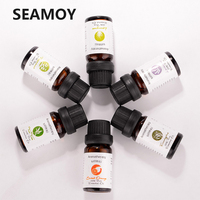 6 stks/set 100% Puur Natuurlijke Aromatherapie Oliën Kit 10ml Voor Luchtbevochtiger Water oplosbare Geur Olie Verse Lucht Essentiële olie Set