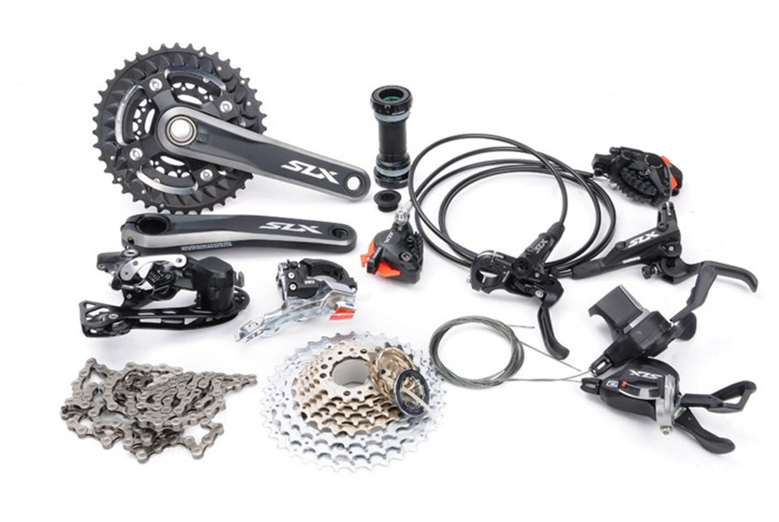 aliexpress com   buy shimano slx m7000 2x11s 3x10s 22s 30s speed groupset 170 175mm and