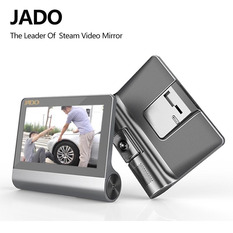 JADO D780 4.3 Car Camera Full HD 1080P Car Dvr Video Recorder 140 degree Car Registrar Car DVRs Camcorder Dash cam ADAS