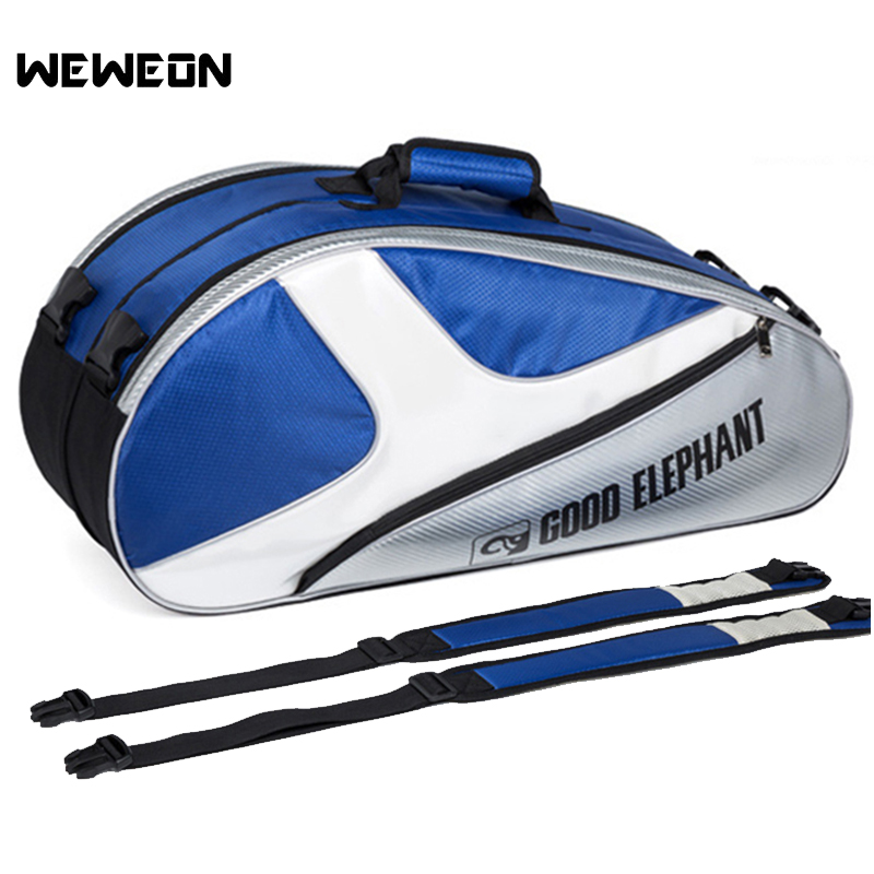 3-7Pcs Large Tennis Bag for Tennis Racquet Badminton Bags Shoulder Racket Backpack for Shoe Srotage Athlete Accessories3-7Pcs Large Tennis Bag for Tennis Racquet Badminton Bags Shoulder Racket Backpack for Shoe Srotage Athlete Accessories