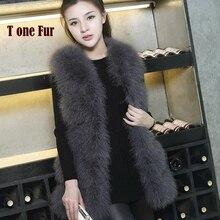Высокая мода,, высокое качество, натуральный мех страуса, жилет из натурального меха индейки,, жилет KSR115
