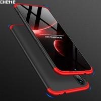 Caso Della Copertura del telefono Per Xiaomi Redmi Nota 8 7 5 6 Pro 8T Mi 9 Redmi 7 8A Y3 6 5 più Pocophone F1 Caso 3 In 1 Coque Protezione Funda