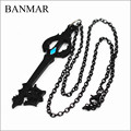 BANMAR Anime Hot Game Kingdom Hearts Oblivion Blade Charms Necklace Alloy Jewelry Accessories Figure Cosplay Gift Otaku Handmade