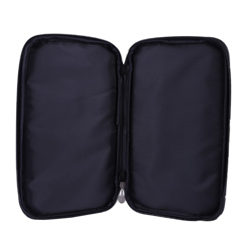 Table Tennis Racket Case Rectangular Oxford Cloth Waterproof Dust-proof Zipper Steel Ring Ping Pong Bat Storage Bag Training