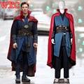 Dr Película Extraña Doctor Strange Stephen Cosplay Manto Traje Uniforme Traje de Superhéroe para Hombres Mujeres Regalo de Navidad de Halloween WXC