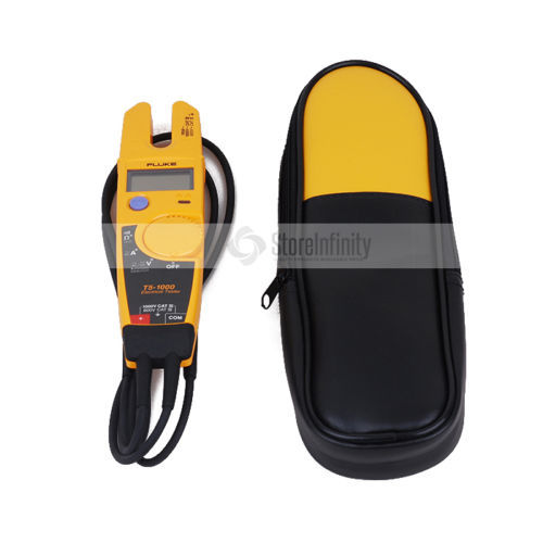 Fluke T5-1000 1000 Voltage Continuity Current Electrical digital clamp meter with Holster мультиметр fluke t5 1000