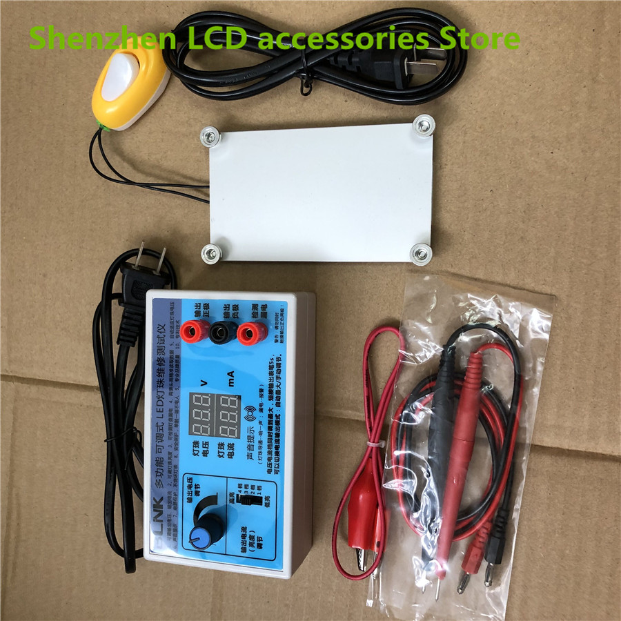 0-240V Output LED TV Backlight Tester LED Strips Test Tool  and    PTC heating plate pad 1PCS