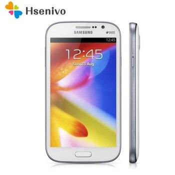 I9082 Unlocked Original Samsung Galaxy Grand i9082 mobile phone 8MP Dual-core 1GB RAM 8GB ROM Android cell phone refurbished