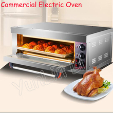 Commercial Electric Oven Stainless Steel Multifunctional Single Layer Electric Oven With Large Capacity Baking Machine RJ-8S