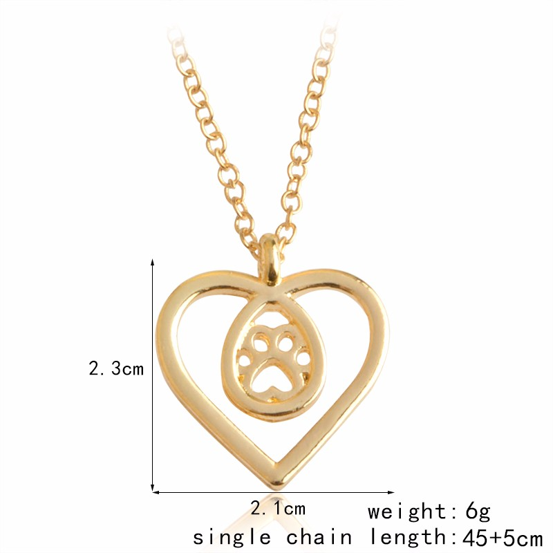 I Love Paw Necklace 6