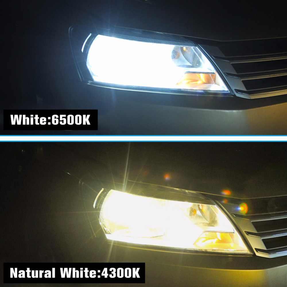 ATcomm H7 H4 LED 4300K Mini Car Headlights Bulb H1 9005/HB3 9006/HB4 12V 24V 8000Lm COB LED H11/H8/H9 Auto Moto Truck Car Lamp