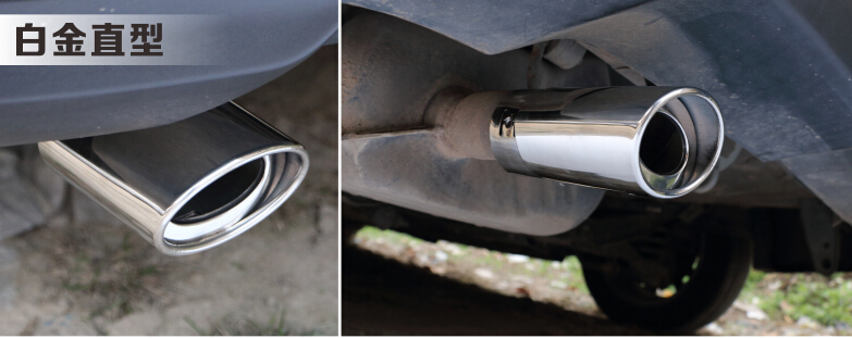 US $22 59 |Free Shipping Stainless Steel Exhaust Muffler Tip Pipe For  Suzuki Swift 2004 2011 2009 2010-in Chromium Styling from Automobiles &