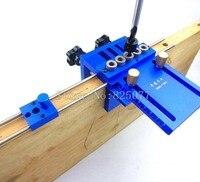 3 в 1 бурения Высокая точность Дюбеля Джиги Дюбеля Линь джиг комплект деревообрабатывающий инструмент деревообрабатывающий столярных лока