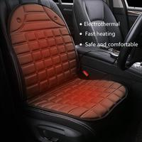 New Fashion 12v Heated Car Seat Cushion Universal Electric Winter Cushions Single Heating Pads Keep Warm