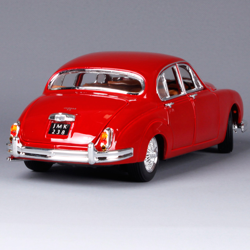 Bburago 1:18 1959 Jaguar Mark II Car model Retro Classic Car Diecast Model Car Toy New In Box Free Shipping 12009-in Diecasts & Toy Vehicles from Toys & Hobbies    3