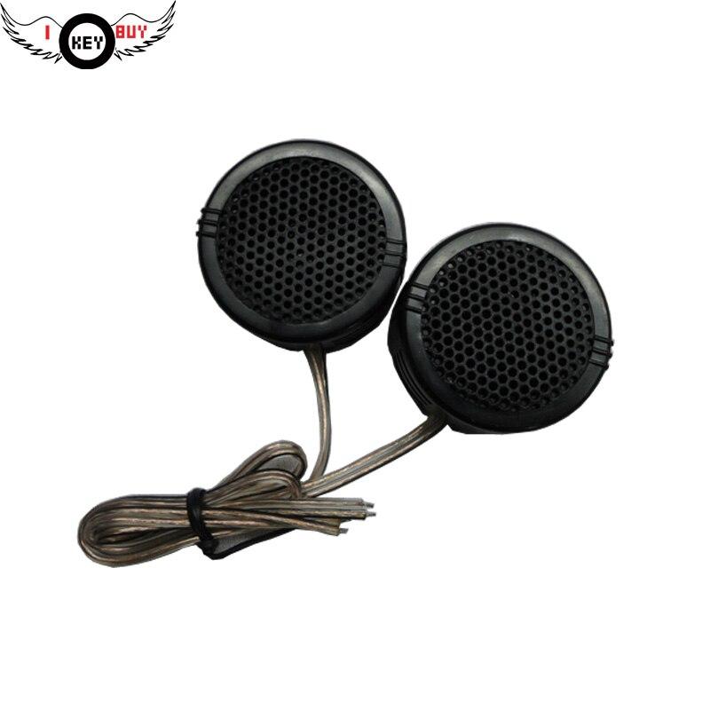 I Key Buy 35W 12V 25Hz-20KHz 1PC Universal Car Tweeter Audio Modified Silk Cars Dome Stereo Small Hair Level Sound Speaker