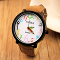 Moda Casual Unisex Reloj de Los Hombres Mujeres Lápiz Puntero Relojes de Cuarzo Famosa Marca de Lujo de Reloj de Pulsera Reloj Del Relogio Feminino