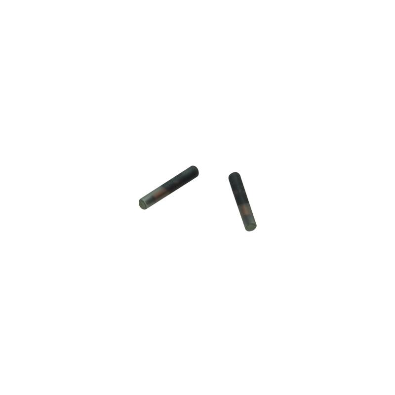 100pcs Mini Chips 1.25*7mm Pet Tracking Chip Implant For Livestocks Birds Caterpillar
