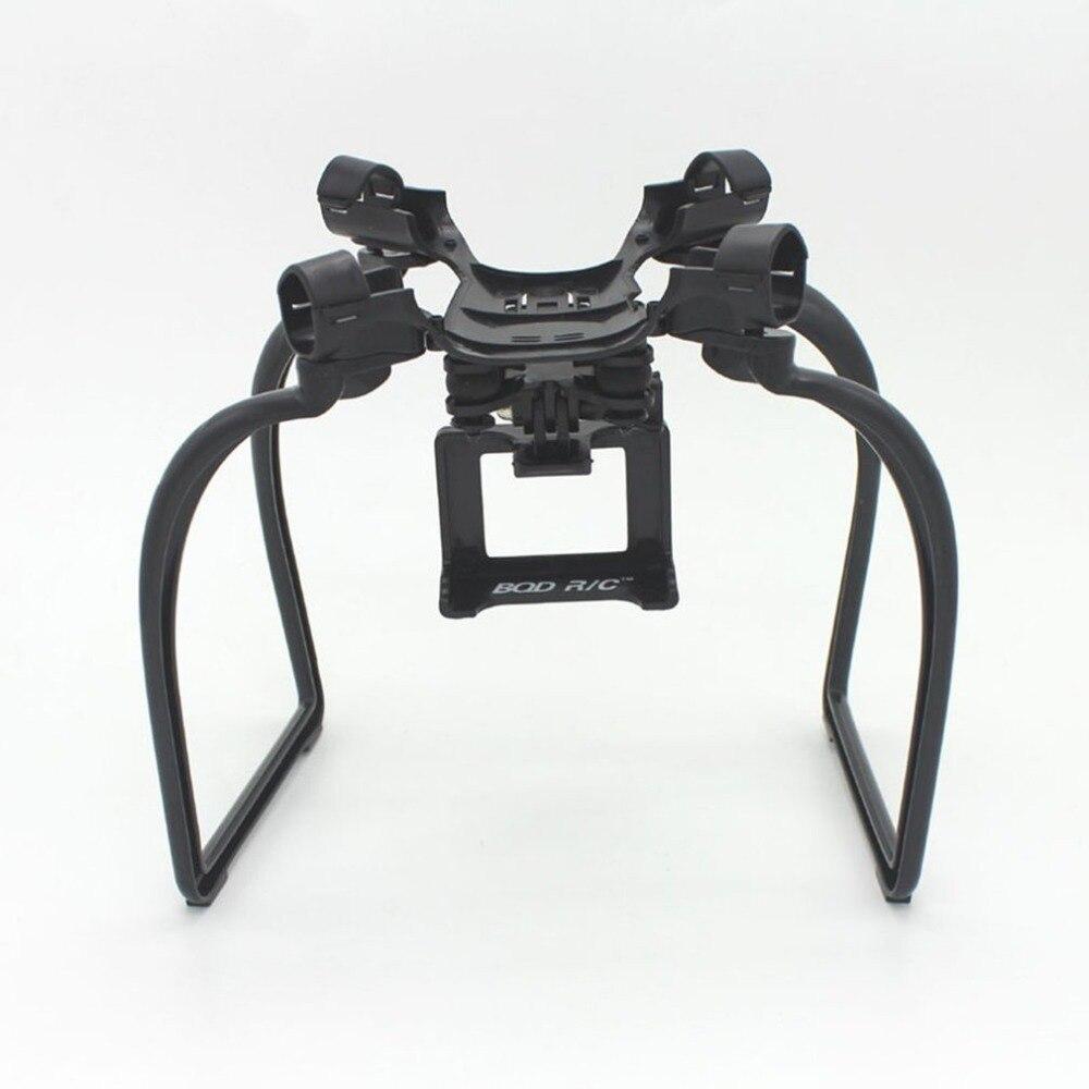 RC Drone las piernas de aterrizaje acción cardán cámara de montaje titular Drone repuestos para Hubsan X4 H501A H501C H501S aviones