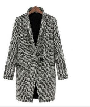 Пальто 2016 зимой продажи шерстяное пальто больших ярдов длинный участок мода девочек на открытом воздухе пальто 30250