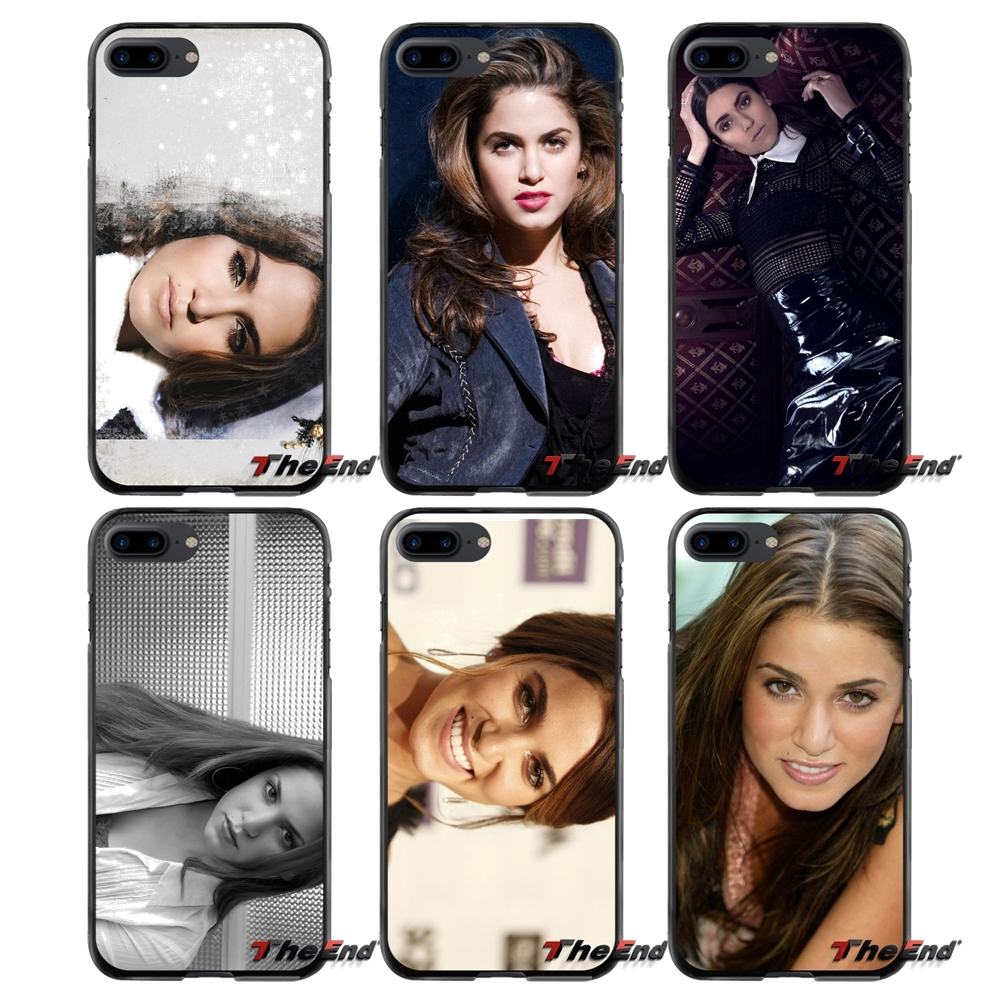 For Apple iPhone 4 4S 5 5S 5C SE 6 6S 7 8 Plus X iPod Touch 4 5 6 Accessories Phone Cases Covers Nikki Reed