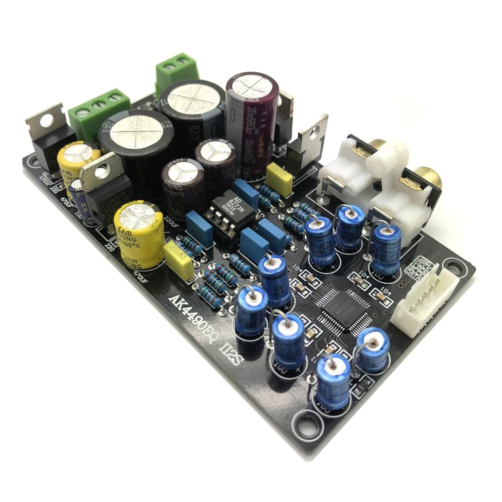 Lusya Assembled AK4490EQ AK4490 II2S DAC decoder support 32BIT 768K decoder  G6-008