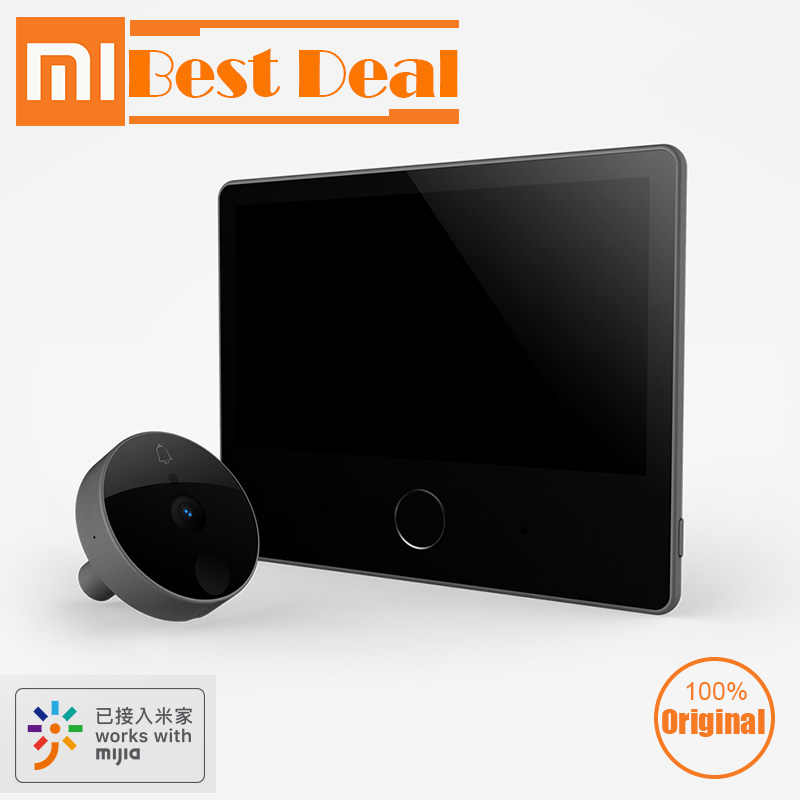 Xiaomi Loock Doorbell luke smart Video intercom Cat Eye Youth edition Face detector for Home Office security Mijia APP LSC-Y01