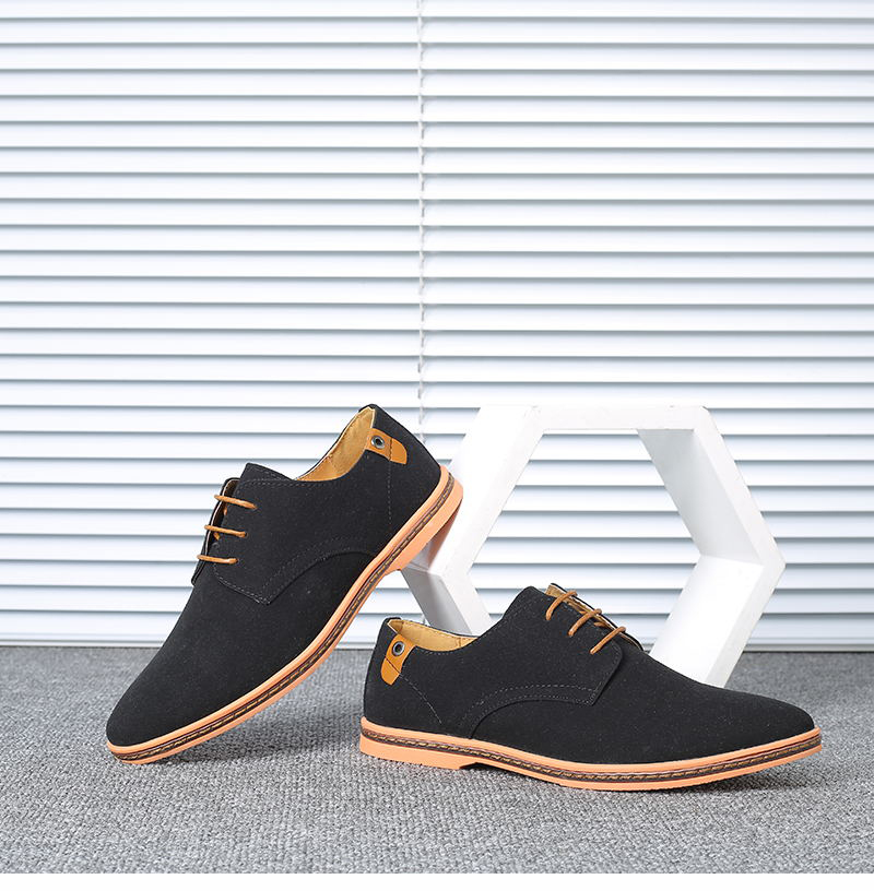 HTB1dPkHX8OD3KVjSZFFq6An9pXaG VESONAL Brand 2019 Spring Suede Leather Men Shoes Oxford Casual Classic Sneakers For Male Comfortable Footwear Big Size 38-46