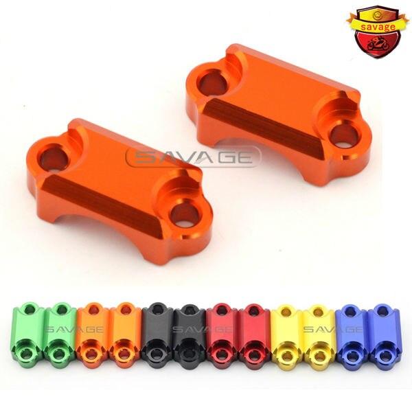 For HONDA VFR 800/1200 VFR1200F VFR1200X VFR800F VFR800 VTEC Motorcycle Clutch & Brake Master Cylinder Clamp Bar Clamp Cover