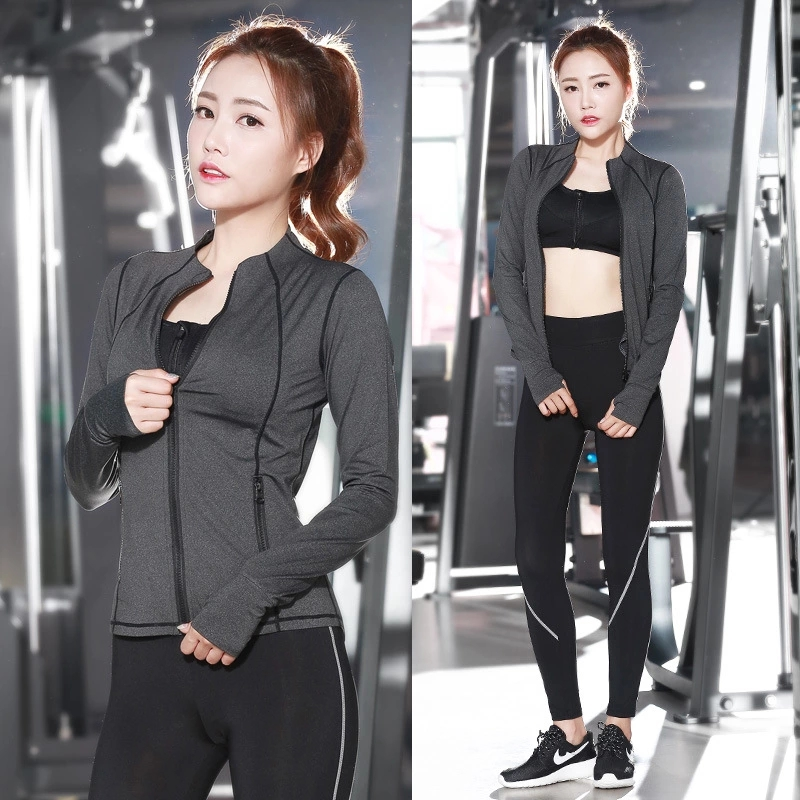 3pcs=1sets Yoga Pants+Zip Sports Bra+Long sleeved Jacket,Fitness suits,yoga Sports Set,Jogging Set for Women Jogging Suit YG 2017 new brand sports yoga set autumn long sleeved hoodie running fitness sports suits yoga clothing three piece women sweater