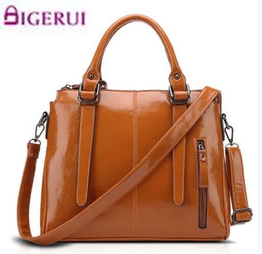 2018 New Vintage Oil Wax Handbag Geniune Leather Women Bag Ladies Shoulder Bags Women Messenger Bag Bolsas Femininas A62 женские блузки и рубашки hi holiday roupas femininas blusa blusas femininas