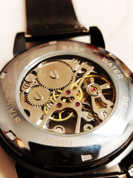 HTB1dPkPaSSD3KVjSZFKq6z10VXal Forsining Retro Fashion Design Skeleton Sport Mechanical Watch Luminous Hands Transparent Mesh Bracelet For Men Top Brand Luxury