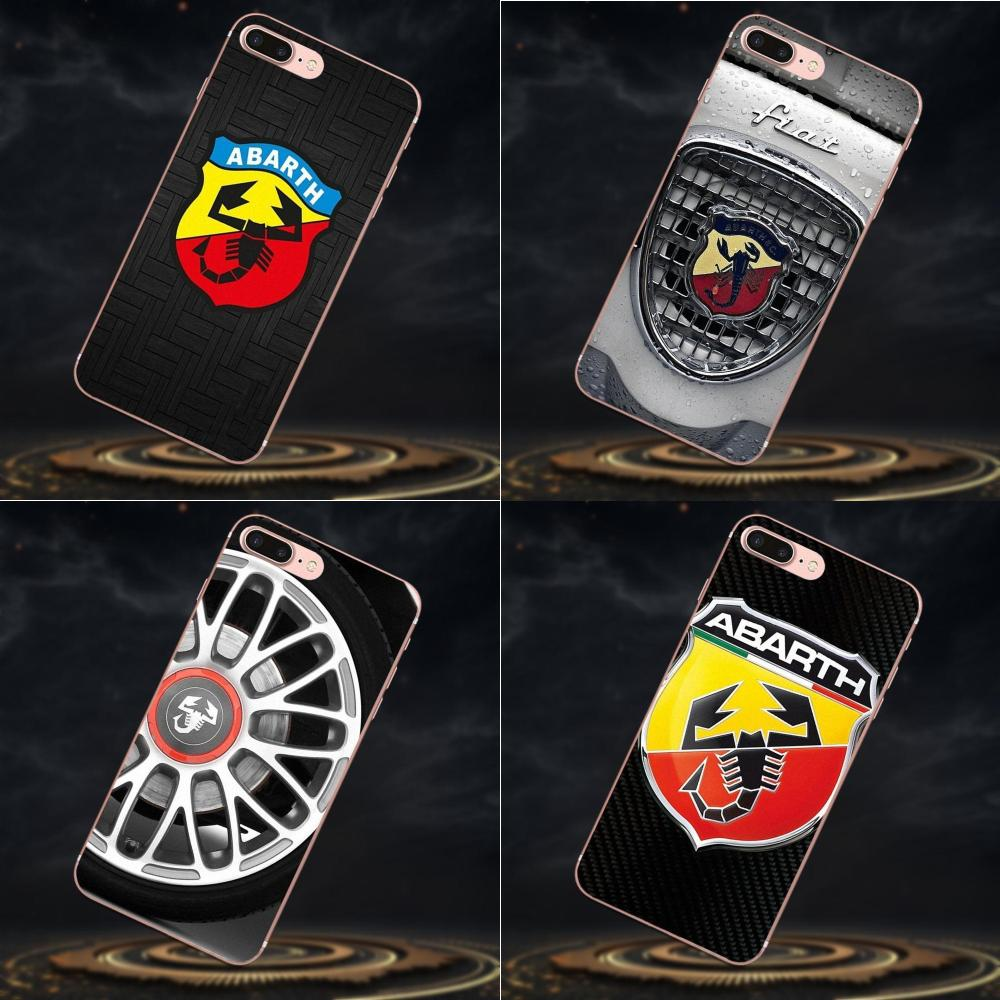 2019 Car Abarth Logo TPU <font><b>Phone</b></font> Covers <font><b>Case</b></font> For <font><b>Sony</b></font> <font><b>Xperia</b></font> Z Z1 Z2 Z3 Z4 Z5 compact Mini M2 M4 M5 T3 <font><b>E3</b></font> E5 XA XA1 XZ Premium image