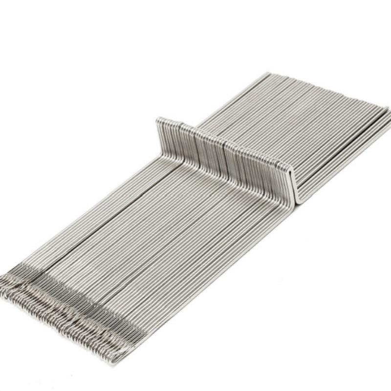 50pcs Silver Reed Singer Studio Knitting Machine Needle Steel Needles Set For Wool Yarn Knitting Machine SK260 SK280 SK360