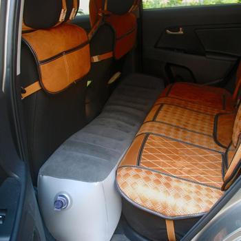 Car Air Mattress Gap Pad Car Back Seat Air Mattress Inflation Bed Travel Air Bed Inflatable Vehicle Durable Seat Cover