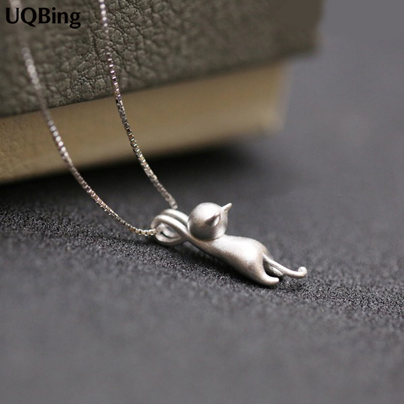 925 Sterling Silver Necklaces Cats Penda