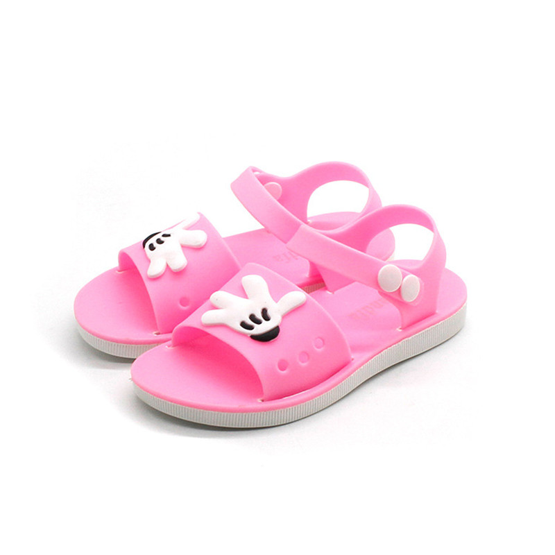 Mini Melissa Summer Children Sandals Slip-resistant Wear-resistant Small Boy Casual Sandals Girls Boys Shoes Child Summer Sandal