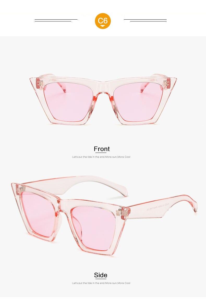 HTB1dPlbmf2H8KJjy1zkq6xr7pXav - AFOFOO Fashion Women Sunglasses Cat Eye Glasses Lady Brand Designer Retro Sun glasses UV400 Shades Eyewear Oculos de sol