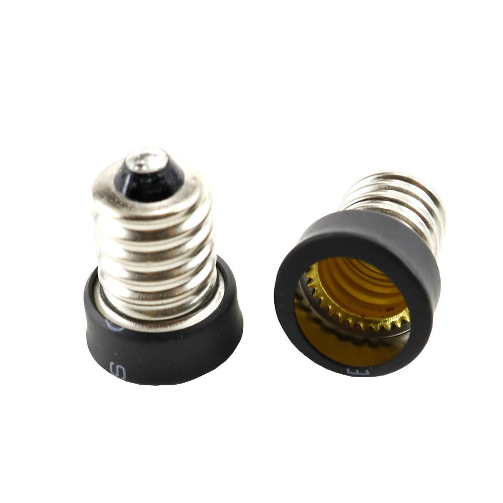 E14 To E12 Bulb Lamp Holder Adapter Socket Converter Light Base Candelabra Lamp Holder Converter Accessories For E12 Light Base