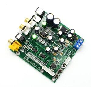 Image 5 - Lusya ES9038 Q2M DAC DSD dekoder desteği IIS DSD koaksiyel Fiber giriş 384KHz DOP OLED D5 001