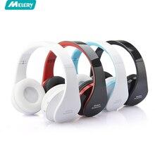 Melery Fone De Ouvido Grande Som Grande Headfone Casque Áudio Bluetooth Headset Sem Fio do Fone de ouvido Sem Fio para Computador PC