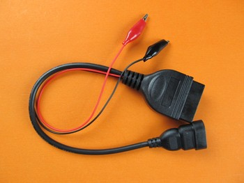 Para fiat 3 pin obd a 16PIn hembra coche adaptador de diagnóstico Cable conector para FIAT 3pin