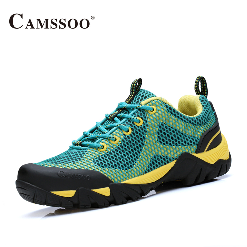 Camssoo Hiking Shoes Men Soft Footwear Classic Men Light Brand Cool Sneakers AA50167 camssoo new running shoes men soft footwear classic men sneakers sports shoes size eu 39 44 aa40375
